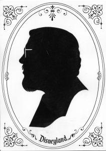 Richard Lowe disneyland silhouette