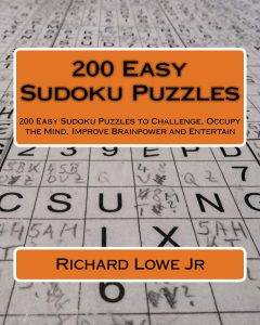 200 Easy Sudoku Puzzles