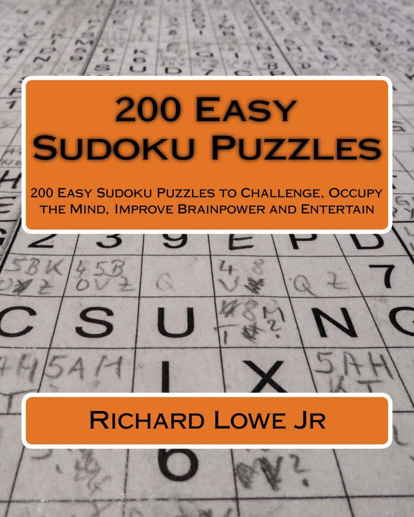 200 Easy Sudoku Puzzles
