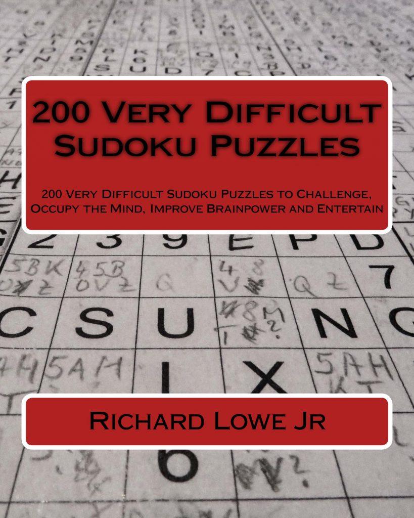 Very difficult sudoku