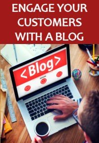 Engage your customers with a blog