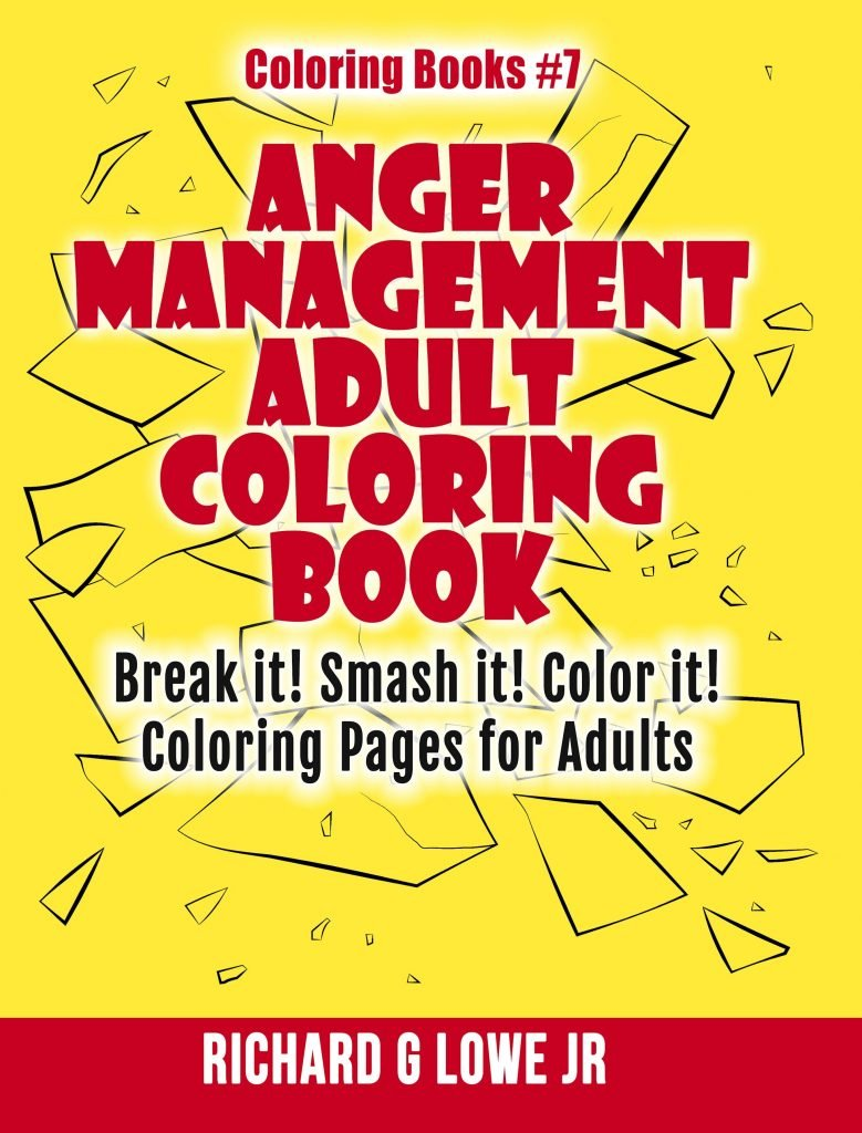 Anger Management Colornig Book