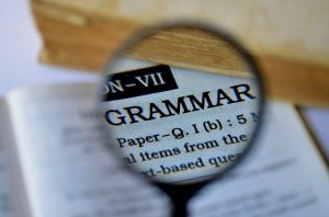 Grammar and spelling are the tools of a writers trade