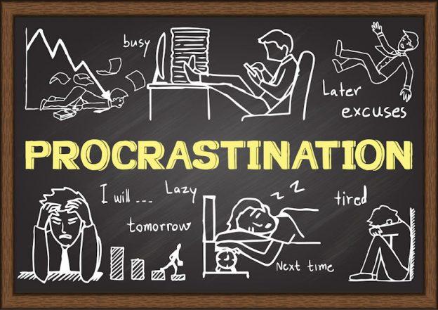 Master Procrastinator Habits can Hurt You