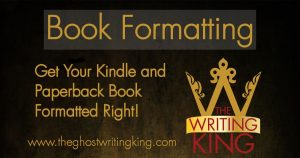 Format Your Book For Kindle (KDP) or Paperback