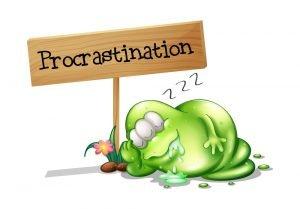 Master procrastinator habits and hurt you