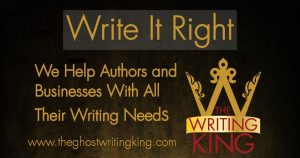 Write it write - We Help Authors and Businesses with all their writing Needs