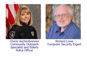 Holiday scams and computer security with The Writing King Richard Lowe