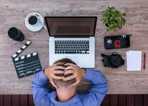 What are the causes of writer's block?