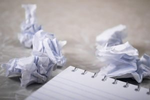 What is the worst writing problem