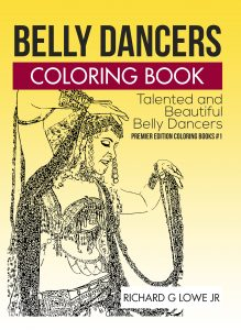 Belly Dancers Coloring Book